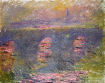 Claude Oscar Monet : Waterloo Bridge III