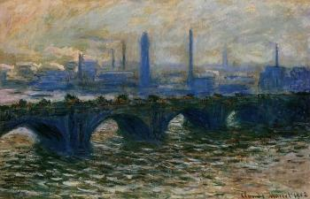 Claude Oscar Monet : Waterloo Bridge, Misty Morning