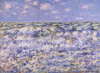 Claude Oscar Monet : Waves Breaking
