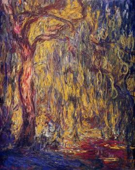 Claude Oscar Monet : Weeping Willow