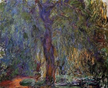Claude Oscar Monet : Weeping Willow III