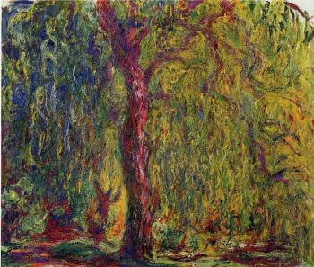 Claude Oscar Monet : Weeping Willow IV