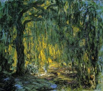 Claude Oscar Monet : Weeping Willow V