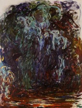 Claude Oscar Monet : Weeping Willow VI