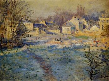 Claude Oscar Monet : White Frost
