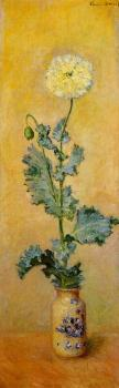 Claude Oscar Monet : White Poppy