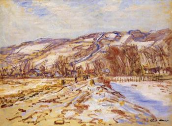 Claude Oscar Monet : Winter at Giverny II