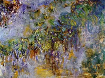 Claude Oscar Monet : Wisteria, right half