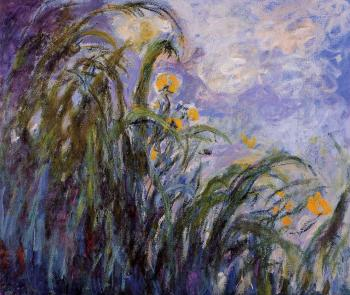 Claude Oscar Monet : Yellow Irises II