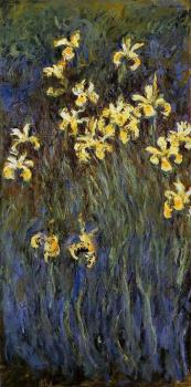 Claude Oscar Monet : Yellow Irises III