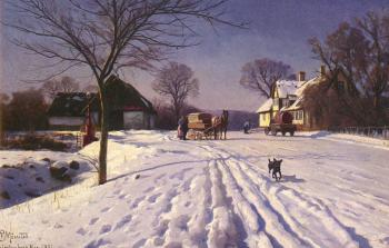 Peder Mork Monsted : Lindenborg Kro