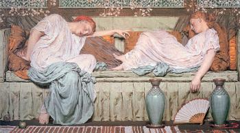 Albert Joseph Moore : Apples