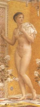 Albert Joseph Moore : A Yellow Room