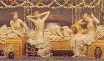 Albert Joseph Moore : A Summer Night