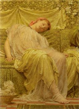 Albert Joseph Moore : Work Basket