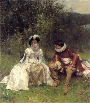 Adrien Moreau : The Courtship