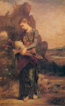 Thracian Girl carrying the Head of Orpheus on his Lyre