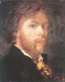 Self-portrait of Gustave Moreau