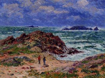 Henri Moret : By the Sea in Southern Brittany