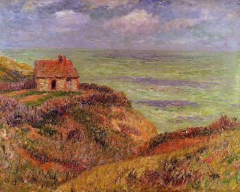 Henri Moret : Cliffs of Moelian, Finistere