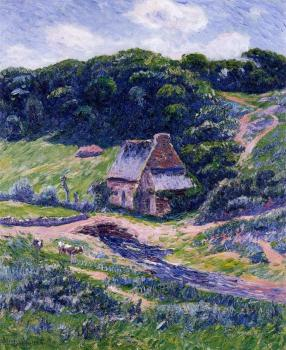 Henri Moret : Farm at Doelan