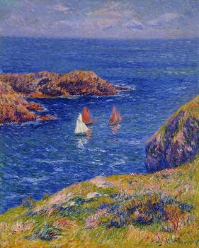 Henri Moret : Quessant, Calm Day