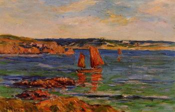Henri Moret : Red Rocks
