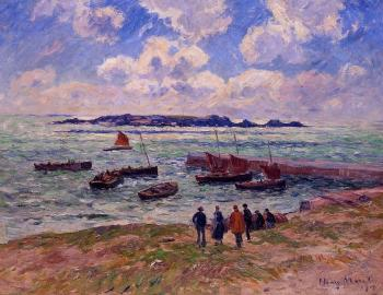 Henri Moret : St. Guenole, Pen' March
