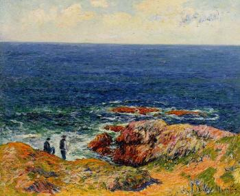 Henri Moret : The Breton Coast IV