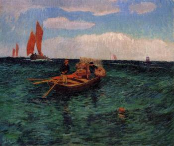 Henri Moret : The Breton Sea