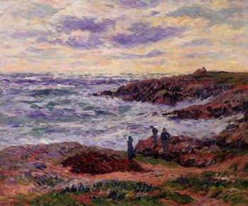 Henri Moret : The Coast at Doelan