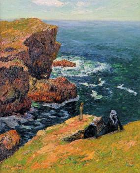 Henri Moret : The Coast at Doelan II