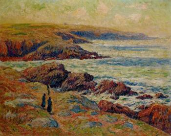 Henri Moret : The Coast near Douarnenez