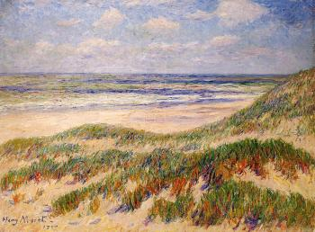 Henri Moret : The Dunes at Egmond, Holland