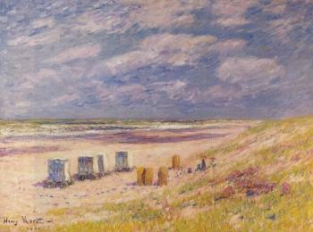 Henri Moret : The Egmond Beach, Holland