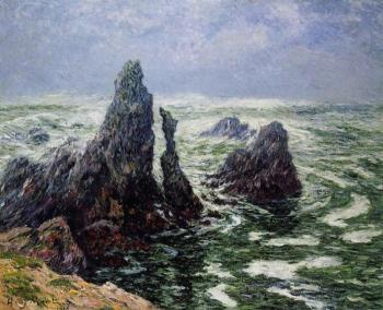 Henri Moret : The Needles of Port-Cotom, Belle Ile
