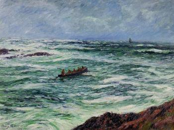Henri Moret : The Pilot, The Coast of Brittany