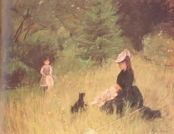 Berthe Morisot : On the Lawn