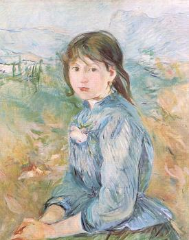 Berthe Morisot : The Little Girl From Nice