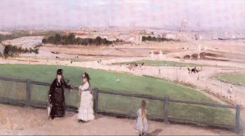 View of Paris from the Trocadero