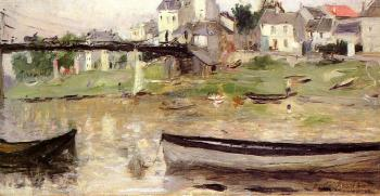 Berthe Morisot : Boats on the Seine