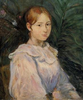 Berthe Morisot : Bust of Alice Gamby