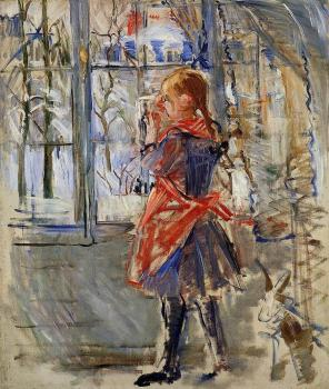 Berthe Morisot : Child with a Red Apron