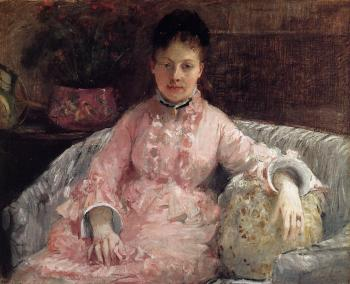 Berthe Morisot : The Pink Dress