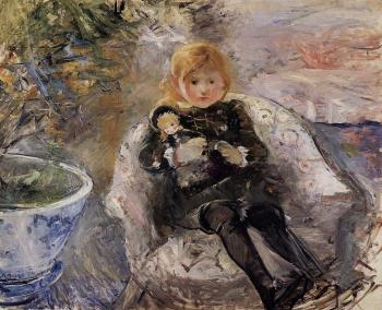 Berthe Morisot : Young Girl with Doll