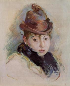 Young Woman in a Hat, Henriette Patte