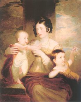 Samuel Finley Breese Morse : Lucretia Morse and her Children