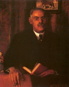 Archibald J Jr Motley : Portrait of the Artist's Father