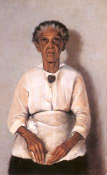 Archibald J Jr Motley : Portrait of my Grandmother