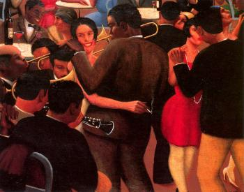 Archibald J Jr Motley : Blues